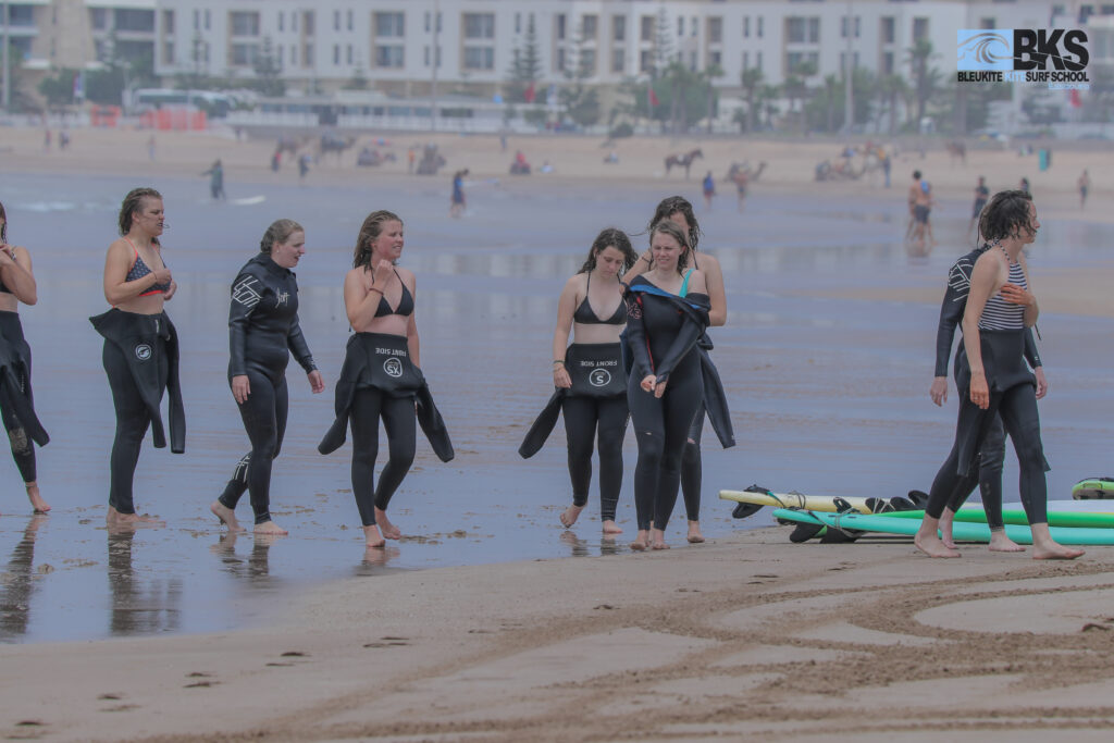 Bleu kite surf Shcool Essaouira Morocco