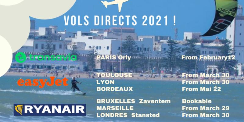 Direct flights to Essaouira Morocco