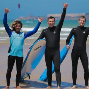 Surf lessons essaouira bleu kite school
