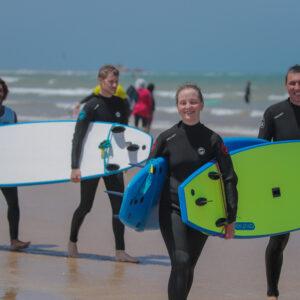 Bleu kite surf holiday package essaouira